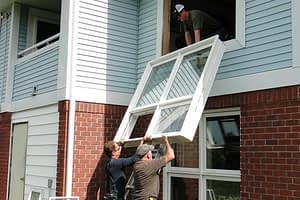 scheel workers installing windows