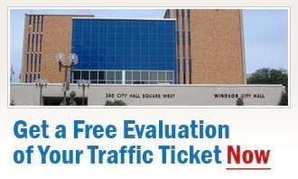 Windsor Traffic Tickets