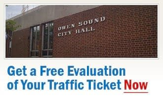 Owen Sound Traffic Tickets